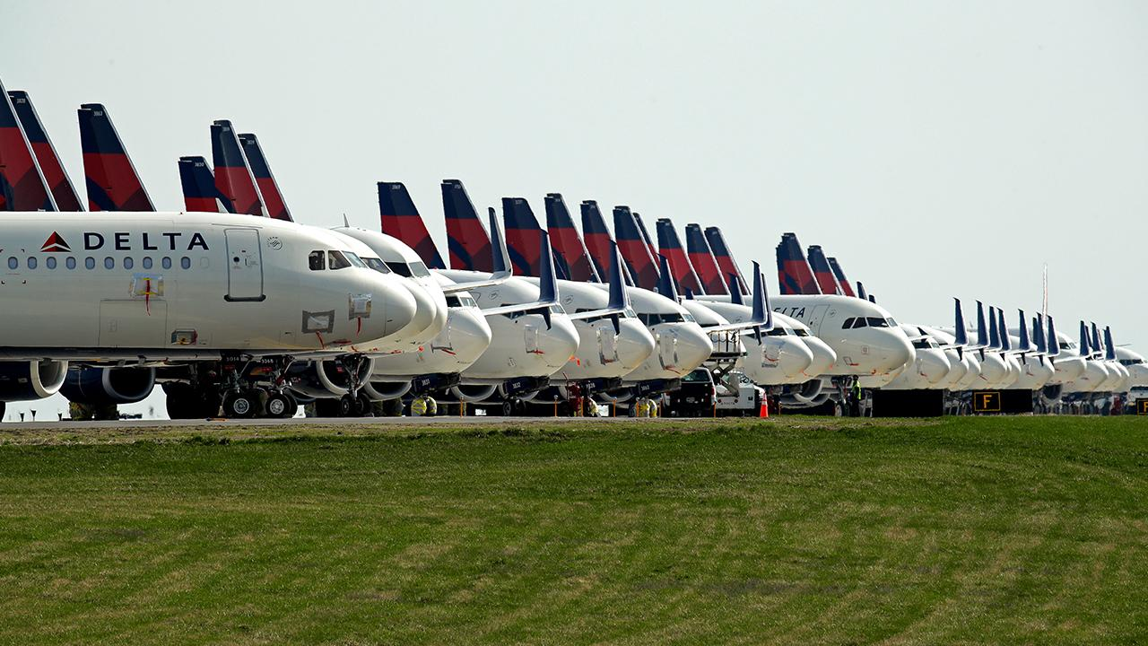 Coronavirus forces Delta Air Lines to burn $60M per day as flights ...