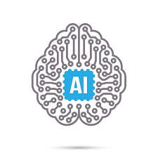 AI Artificial intelligence Technology circuit brain symbol icon - Download  Free Vectors, Clipart Graphics & Vector Art